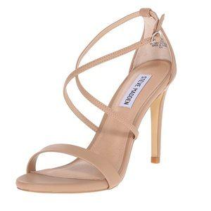 Steve Madden Feliz Strappy Sandal Heels Size 6.5